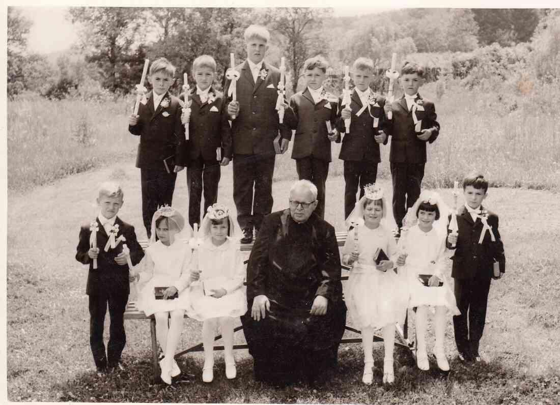 Erstkommunion des Jahrganges 1962